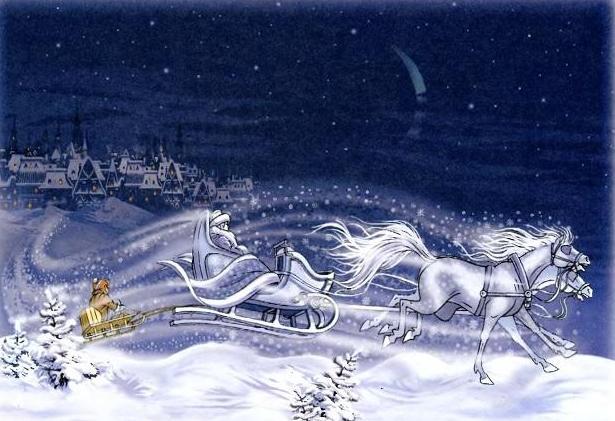 картинки со сказки снежная королева