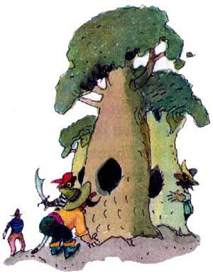 пираты и деревья
