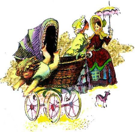 ребенок коляска Питер Пен