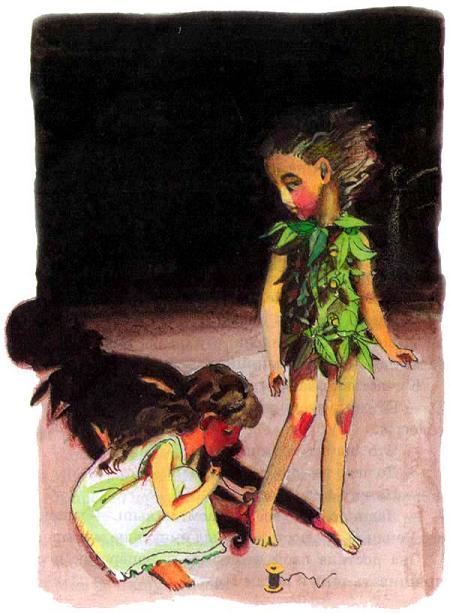 Питер Пен и девочка