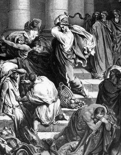 Изгнание из храма продающих и покупающих