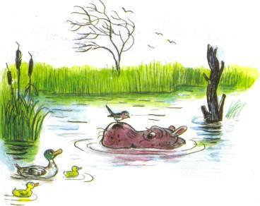 Бегу!  Умрёт, пропадёт.  Он утонет, утонет в болоте.