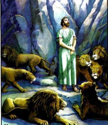 Даниил в львином рве