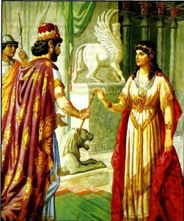 Царица Эсфирь - продолжение.
