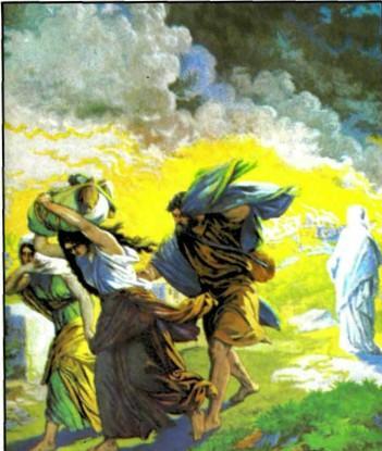Гибель городов Содома и Гоморры.