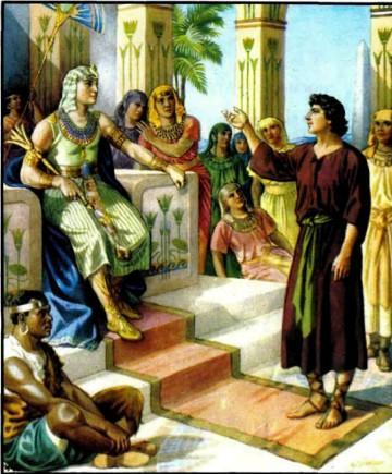 Иосиф толкует сны фараону