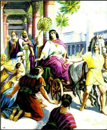 Иосиф - управитель всего Египта