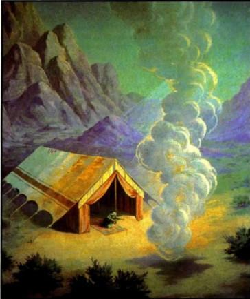 Скиния собрания дым