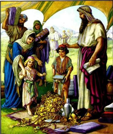 Жертвоприношения для строительства святилища