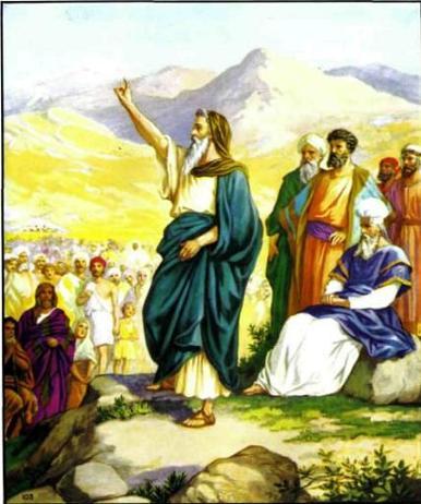 Иисус Навин - приемник Моисея