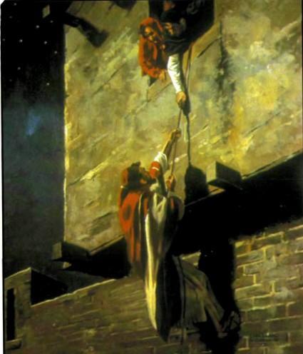 Раав спасает лазутчиков