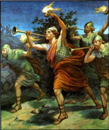 Израильские судьи трубачи