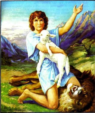 Пастушок Давид - будущий царь