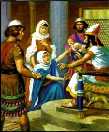 Мудрый царь Соломон