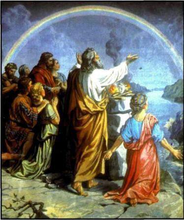 Радуга и Завет Бога с человеком.