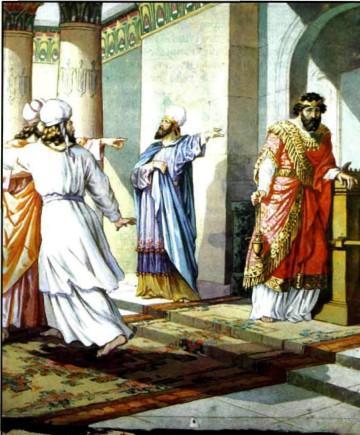 Гордость и наказание царя Озии