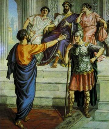Павел перед правителем Фестом