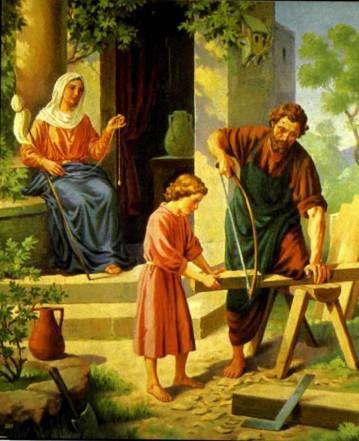 Мальчик Иисус в Назарете