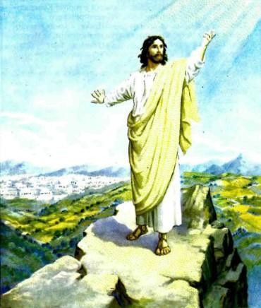 Искушение Иисуса в пустыне.