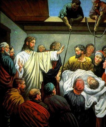 Иисус Христос Исцеление расслабленного