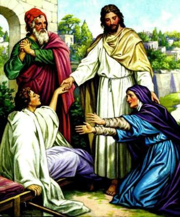 Воскрешение сына вдовы