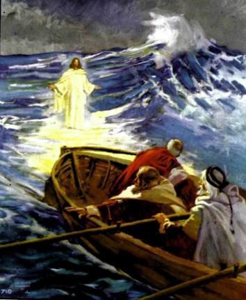 Иисус идет по водам