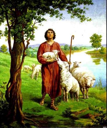 Иисус - добрый Пастырь