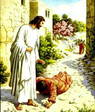 Иисус Христос Десять прокаженных