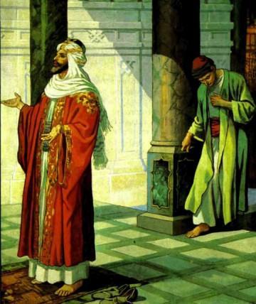 Притча о фарисее и мытаре.