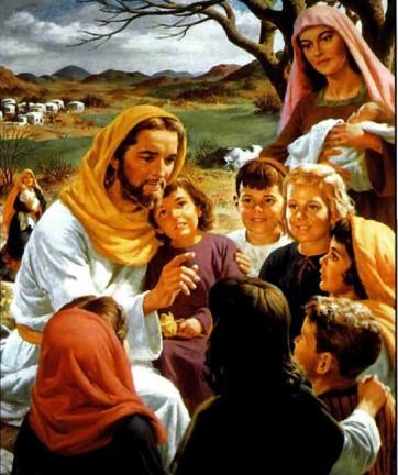 Иисус благословляет детей