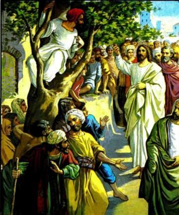 Иисус Христос Обращение мытаря Закхея