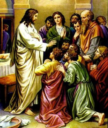 Иисус Христос Беседа после вечери
