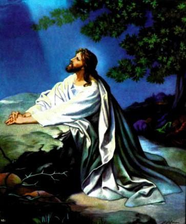Иисус Христос Молитва в Гефсимании