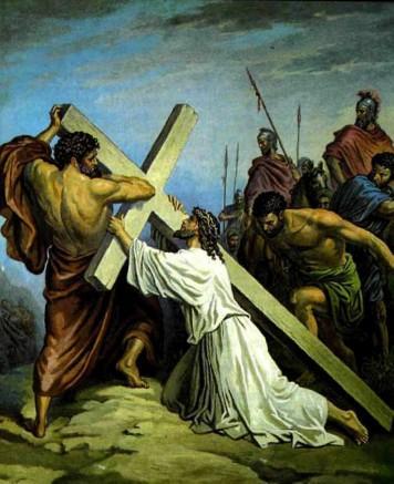 Иисус Христос Неся крест свой