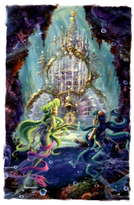 фея Рени в подводном царстве русалок