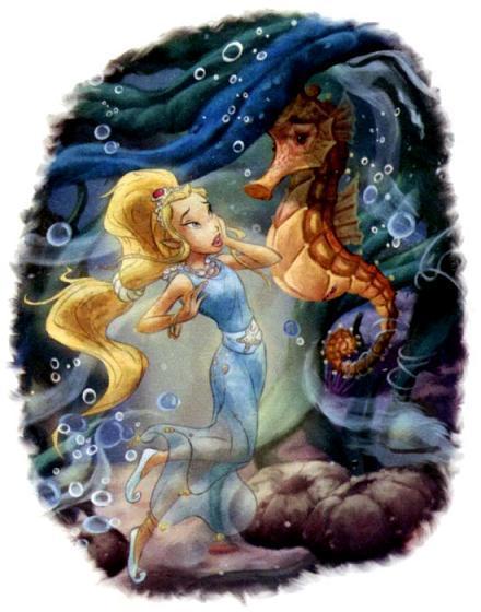 фея Рени и морской конёк