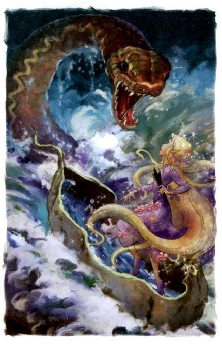 фея Рени и водный змей