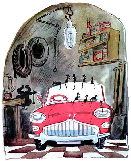 жен: рассказ о маленьком автомобильчике л берга ветка, чьи первые