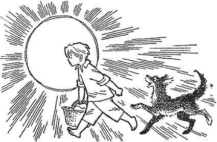 мальчик Лёня и его пёс