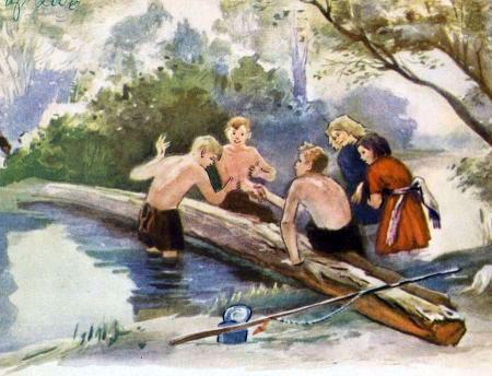 рыбалка рассказ купание
