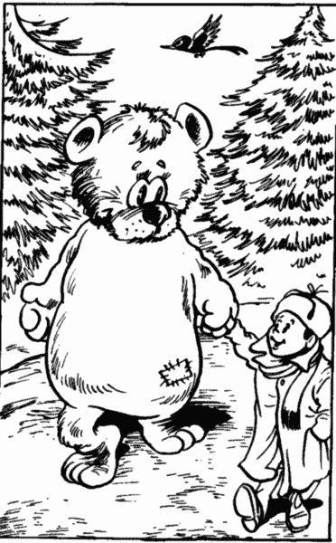 кем знакомый был денискин медведь