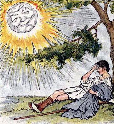 Солнце на ветру