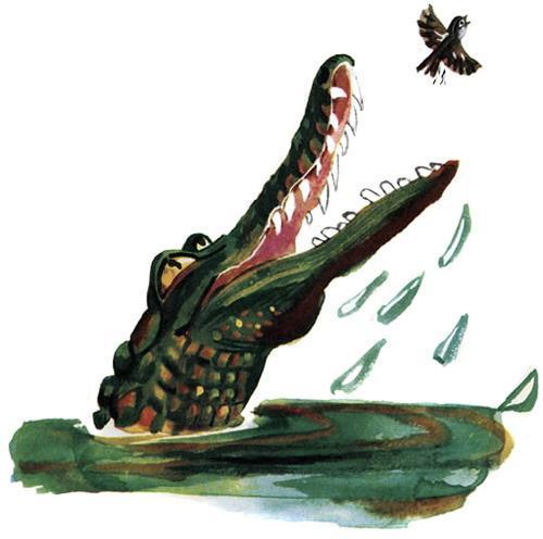 воробей и крокодил