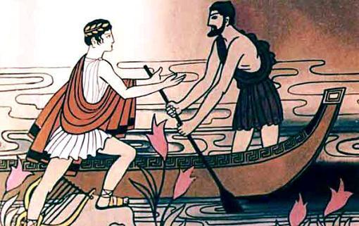 Орфей стал просить Харона