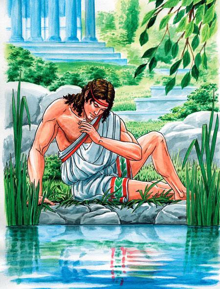 Древнегреческая легенда о нарцисе