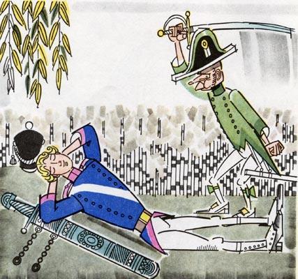 """""""El corredor veloz"""" (""""Солдат Семен, скорый гонец""""). Русская народная сказка на испанском языке. Аудиокнига"""
