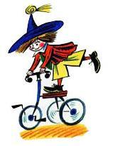 незнайка на велосипеде