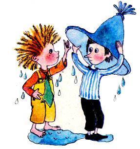 Незнайка и Козлик в шляпе незнайки