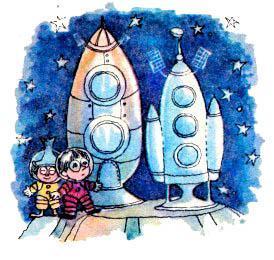 каратышки и ракеты