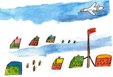 рисунок девочки Ниночки арктика